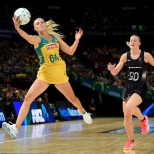 netball ankle injury