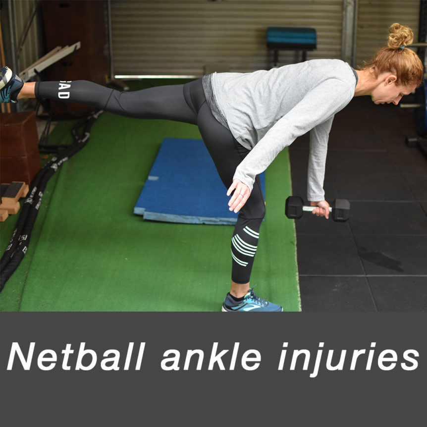 netball ankle