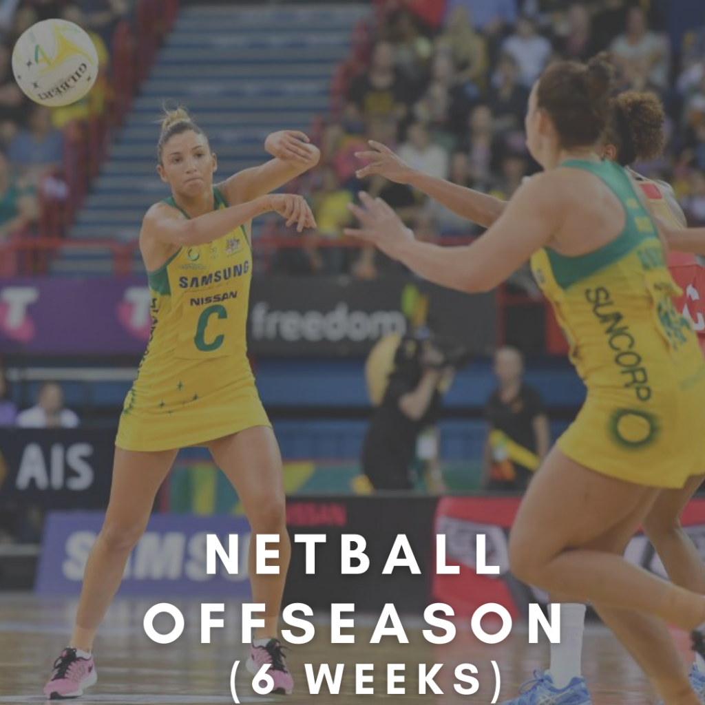 netball strength and conditioning