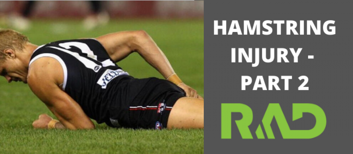 Hamstring Injury Part 2