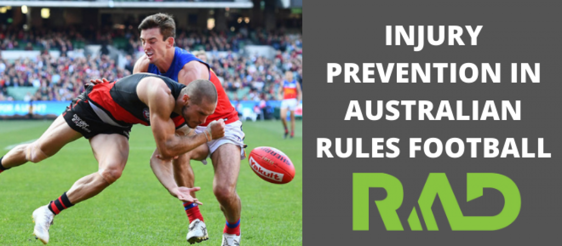 Injury Prevention in Australian Rules Football