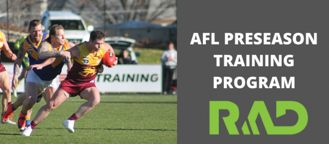 AFL strength and conditioning