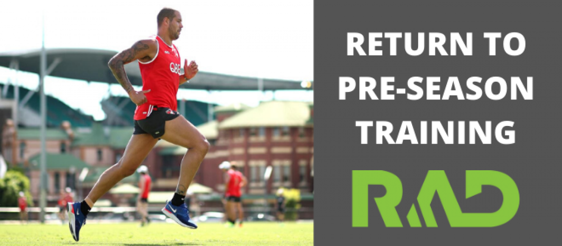 Return to Pre-Season Training